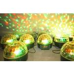 Party Ball !  Auto, voice-activated LED RGB Crystal Magic Ball