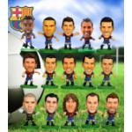 A Set of  F.C. Barcelona SoccerStarz Player Figures (15 Players) 	PRICE UPDATED.